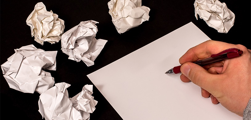 Handwritten letter frustration