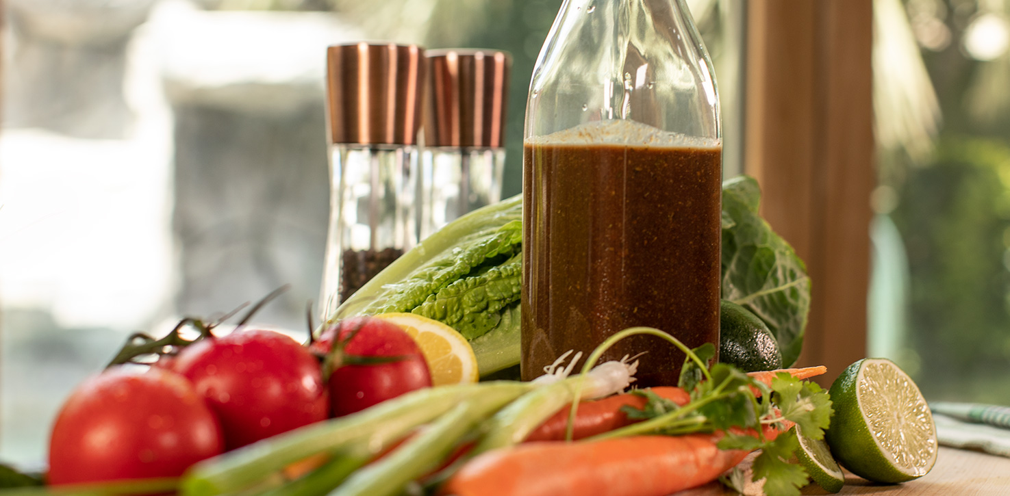 Oil-Free Balsamic Strawberry Dressing
